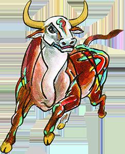 辛丑年牛大版邮票